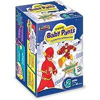 Baby Pants Calzón Entrenador, Talla 2 Niño, 72 Calzoncitos Desechables (6x12)