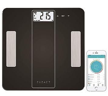Amazon.com: EXZACT ex912 Smart Análisis corporal escala ...