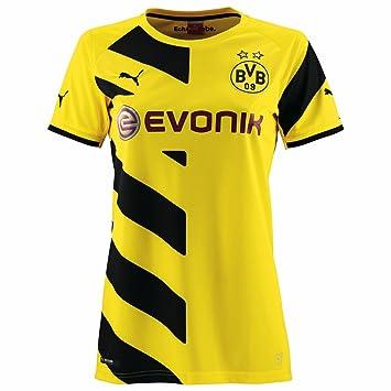 camisetas puma mujer amarillo