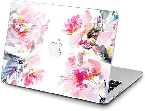 Hand Drawn Clematis Flowers Laptop Sleeve for MacBook Air//MacBook Pro Compatible with 17 Inch Notebook Two-Way Zippers Laptop Carry Bag Case Cover