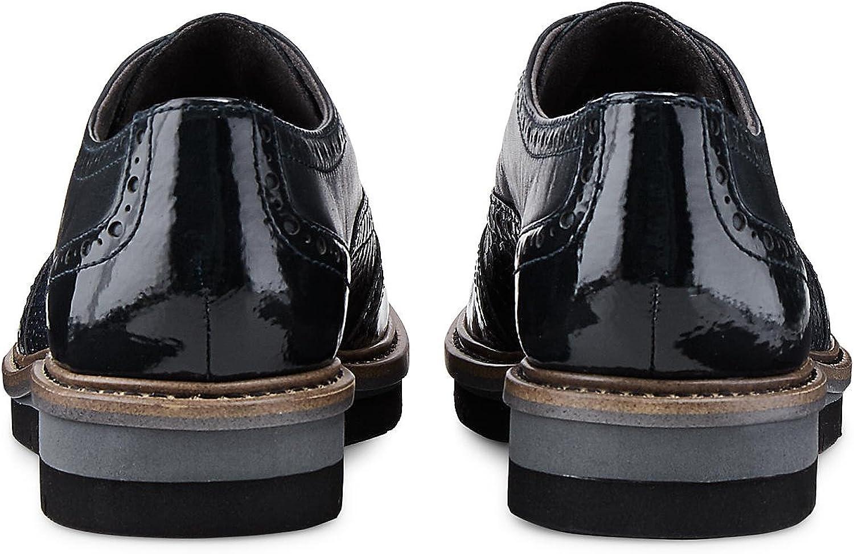 Tamaris Chaussures de Ville à Lacets pour Femme Noir