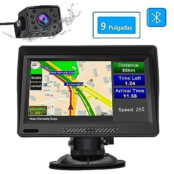 AWESAFE Navegador GPS para Camiones y Coches con Bluetooth y ...