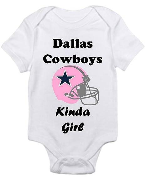 Dallas Cowboys Baby Clothes Custom Amazon Dallas Cowboys GIRLS Fan Shirt Infant Baby Onesie 60