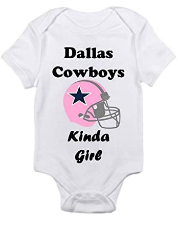 2d1c8775c Amazon.com  Dallas Cowboys GIRLS fan Shirt Infant Baby Onesie 18 ...