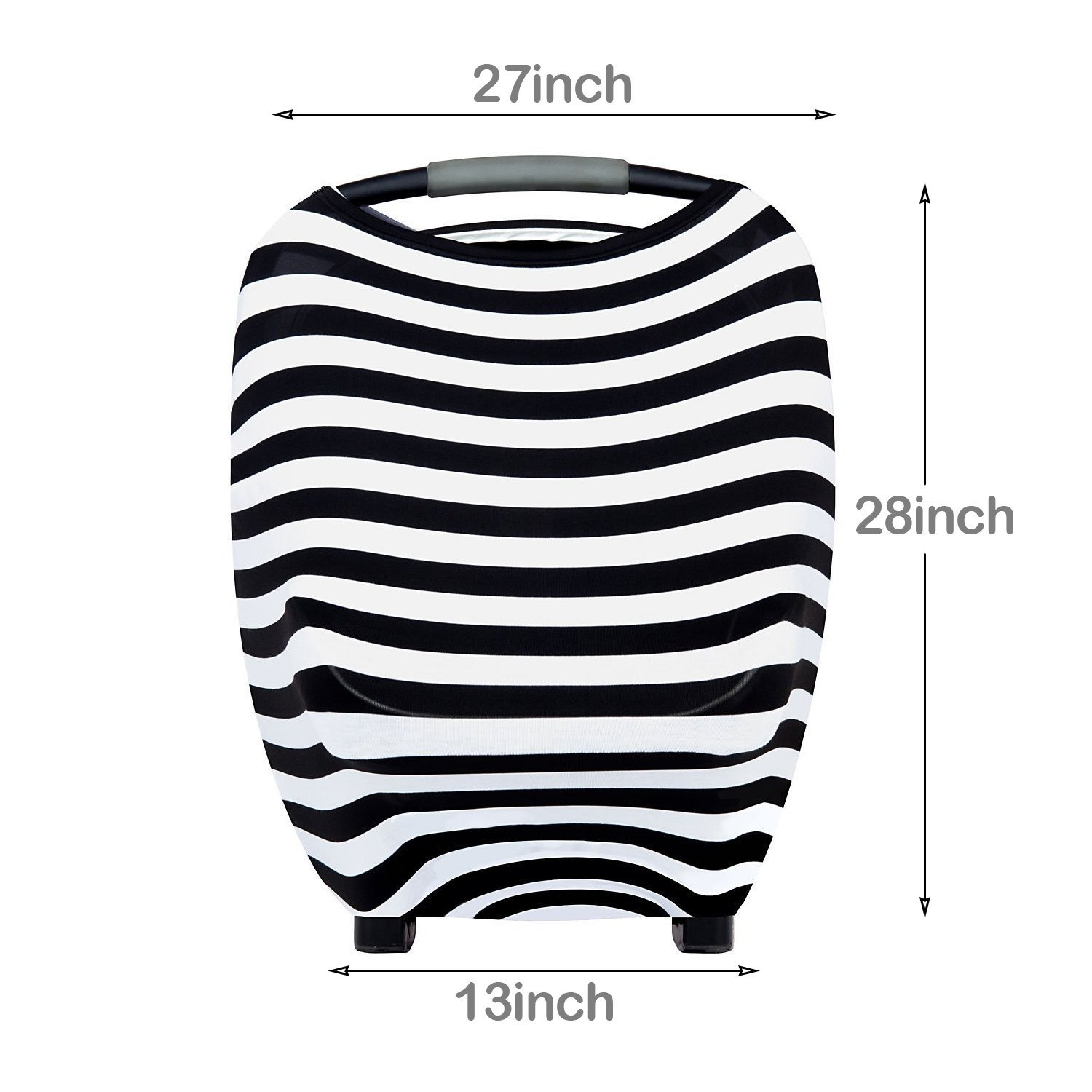 Best Multi-Use Infinity Stretchy Shawl 2 pack Shopping Cart Baby Car Seat Canopy Carseat Covers for Girls and Boys BeYumi Nursing Breastfeeding Cover Scarf Stroller