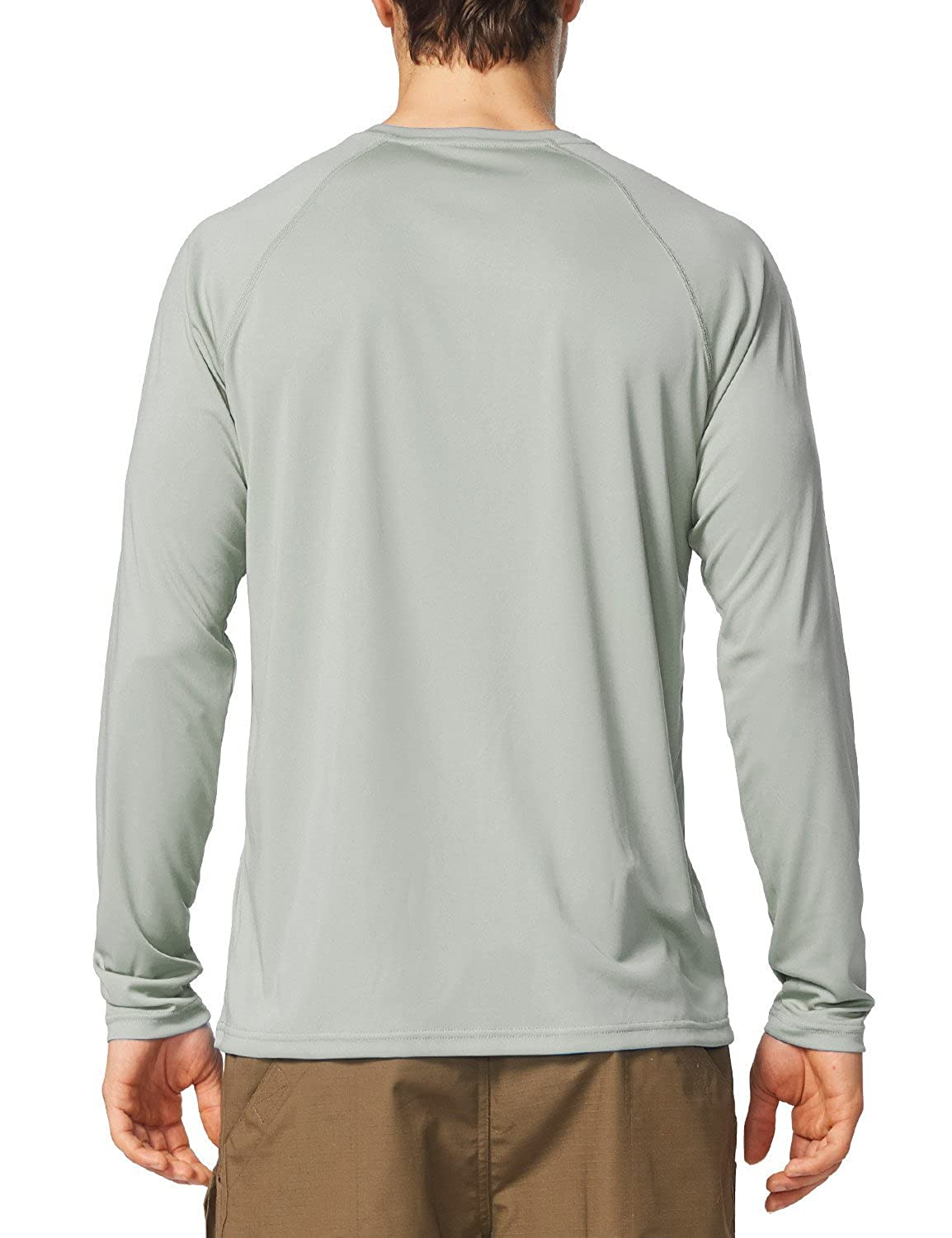 UV Sun Protection Outdoor Long Sleeve Performance T-Shirt Baleaf Mens UPF 50