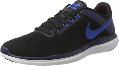 Nike Flex 2016 Rn, Zapatillas de Running para Hombre, Negro (Black / Soar / Binary Blue / White), 43 EU: Amazon.es: Zapatos y complementos