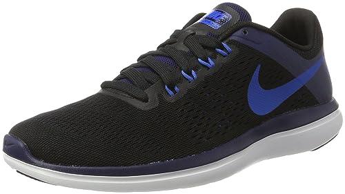 Nike Flex 2016 RN, Zapatillas de Running para Hombre, (Negro/Naranja/Black/Soar/Binary Blue/White), 42.5 EU: Amazon.es: Zapatos y complementos