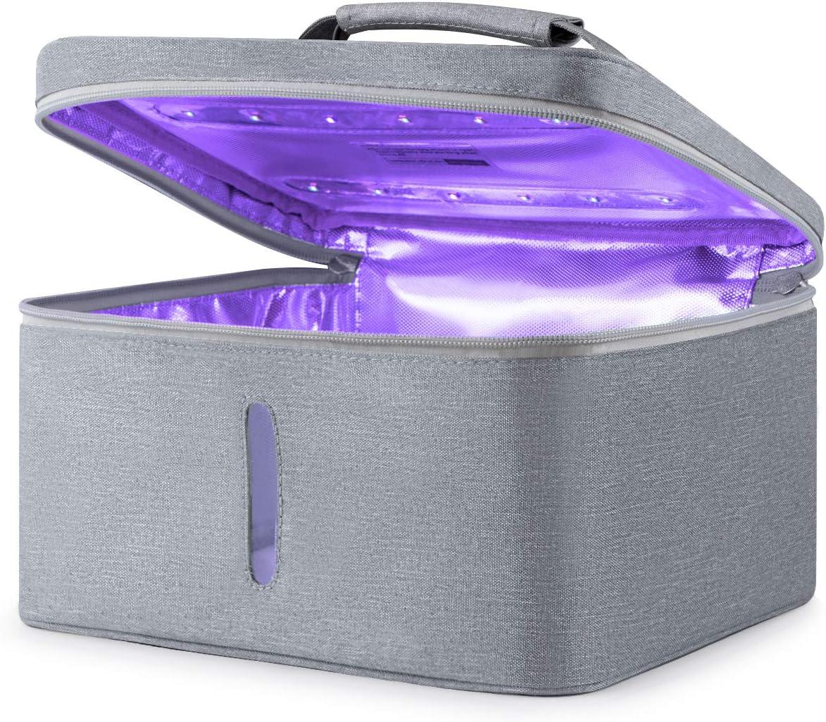 ONE PIX Sanitizer Bag for Cell Phone, 265 nm LED UV Sterilizer, Kill 99.99% in 5 minutes