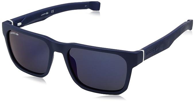 4f076df1ae2 Amazon.com  Lacoste Men s L877s Plastic Magnetic Square Sunglasses ...