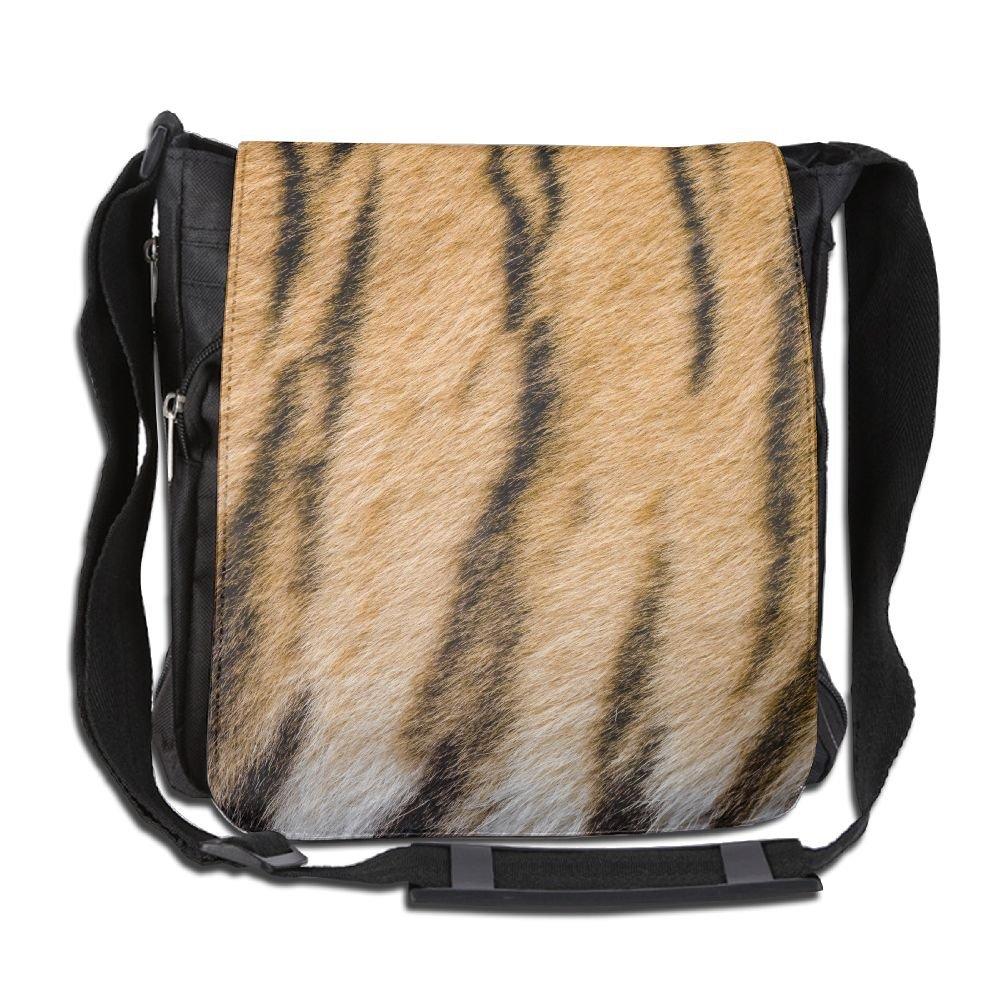 Tiger Stripes Fashion Print Diagonal Single Shoulder Bag