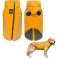 iClosam Abrigo de invierno para perro, reflectante, impermeable, resistente al viento, abrigo para perro, clima frío…