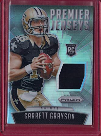 2015 Panini Prizm Prizm Premier Jerseys #15 Garrett Grayson ...