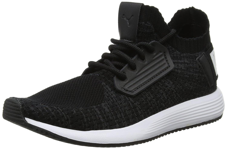 Puma Unisex-Erwachsene Uprise Knit Sneaker  37 EU|Schwarz (Puma Black-iron Gate-puma White 01)