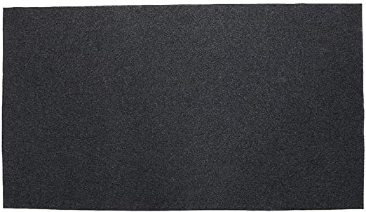 Black Masso 231480/Fireproof Mat 100/x 150/cm
