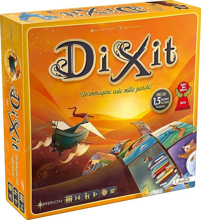 Dixit Juego de habilidad (Edición Italiana): Amazon.es: Juguetes y juegos