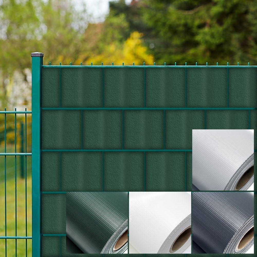 Amazon De Wiltec Sichtschutz Streifen 35mx19cm Grun Aus Pvc 450g