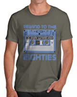 Twisted Envy Men's Rewind To The Eighties Cotton T-Shirt