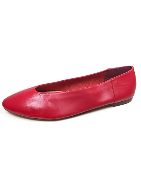4f208aac03d Zara Women V-cut leather ballerinas 3310/201 (38 EU | 7.5 US | 5 UK ...