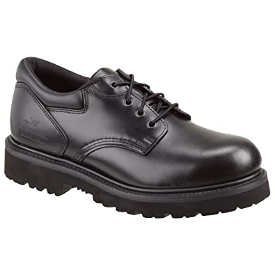 Amazon Com Thorogood Mens Uniform Classic Leather Oxford Steel