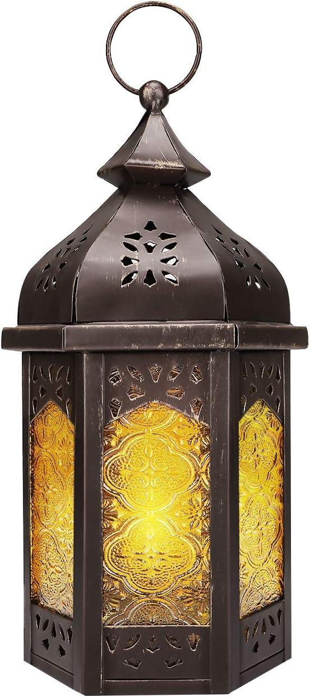 Vintage Moroccan Garden Lantern Candle Holder Lamp Holder Garden Patio Decor
