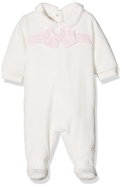 Chicco 9021462, Pelele para Bebés, Blanco (Naturale), (Talla del Fabricante