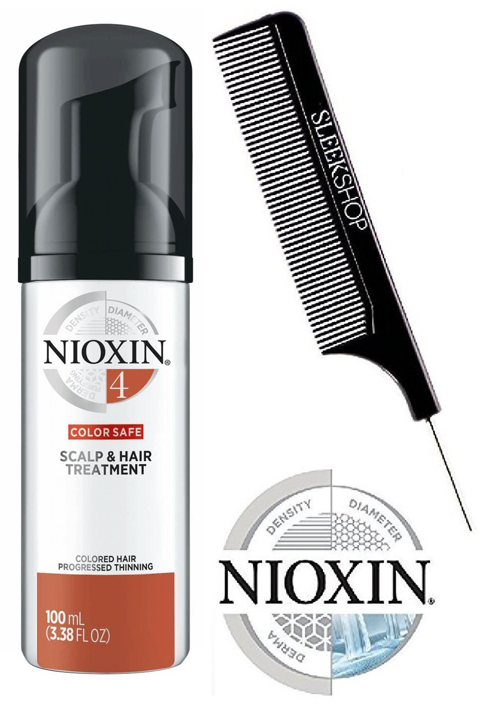 Best Nioxin System 4 Color Safe Scalp Hair Treatment For Colored