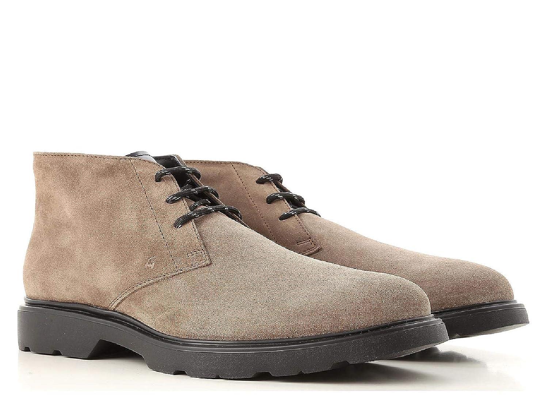 Light bspringaa Hogan H393 Derby Man's Ankle Boots in Light Light Light bspringaa mocka Leather Modell Number  HXM3930W352JC205U  lyx-märke