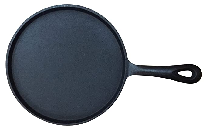 Amazon.com: Wees Beyond 5300-BF Frying Pan Round Pre-Seasoned Cast Iron Black: Kitchen & Dining