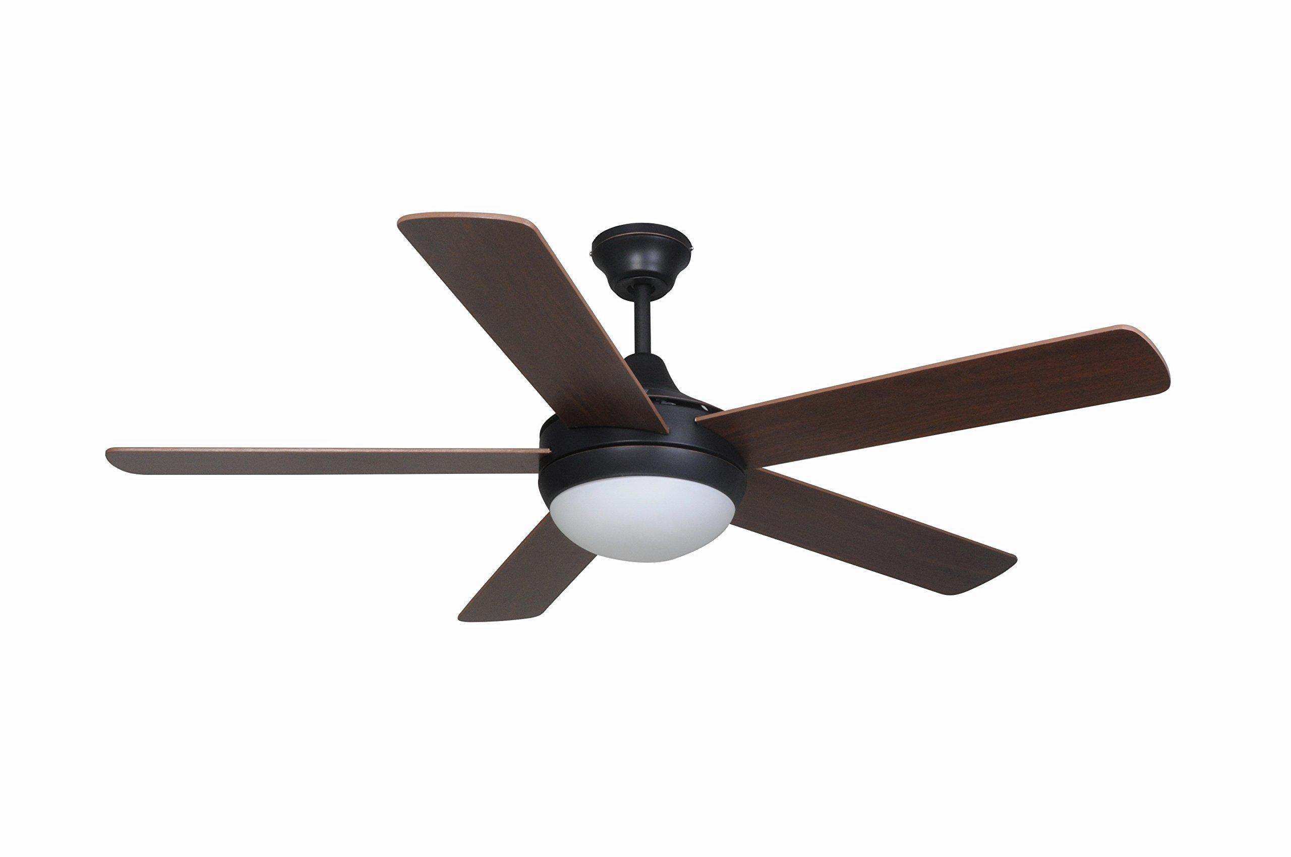 Hardware House 207249 Ceiling Fan, Oil Rubbed Bronze finish