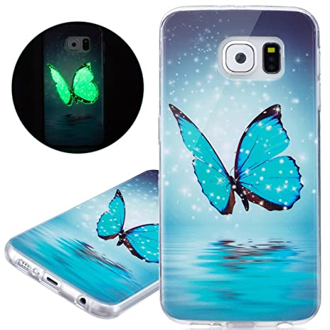 custodia samsung s6 in silicone luminosa