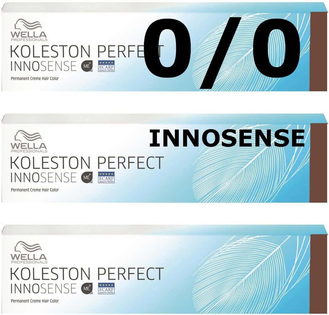 Wella Innosense 0/0 Natural Koleston - 3 unidades, color ...