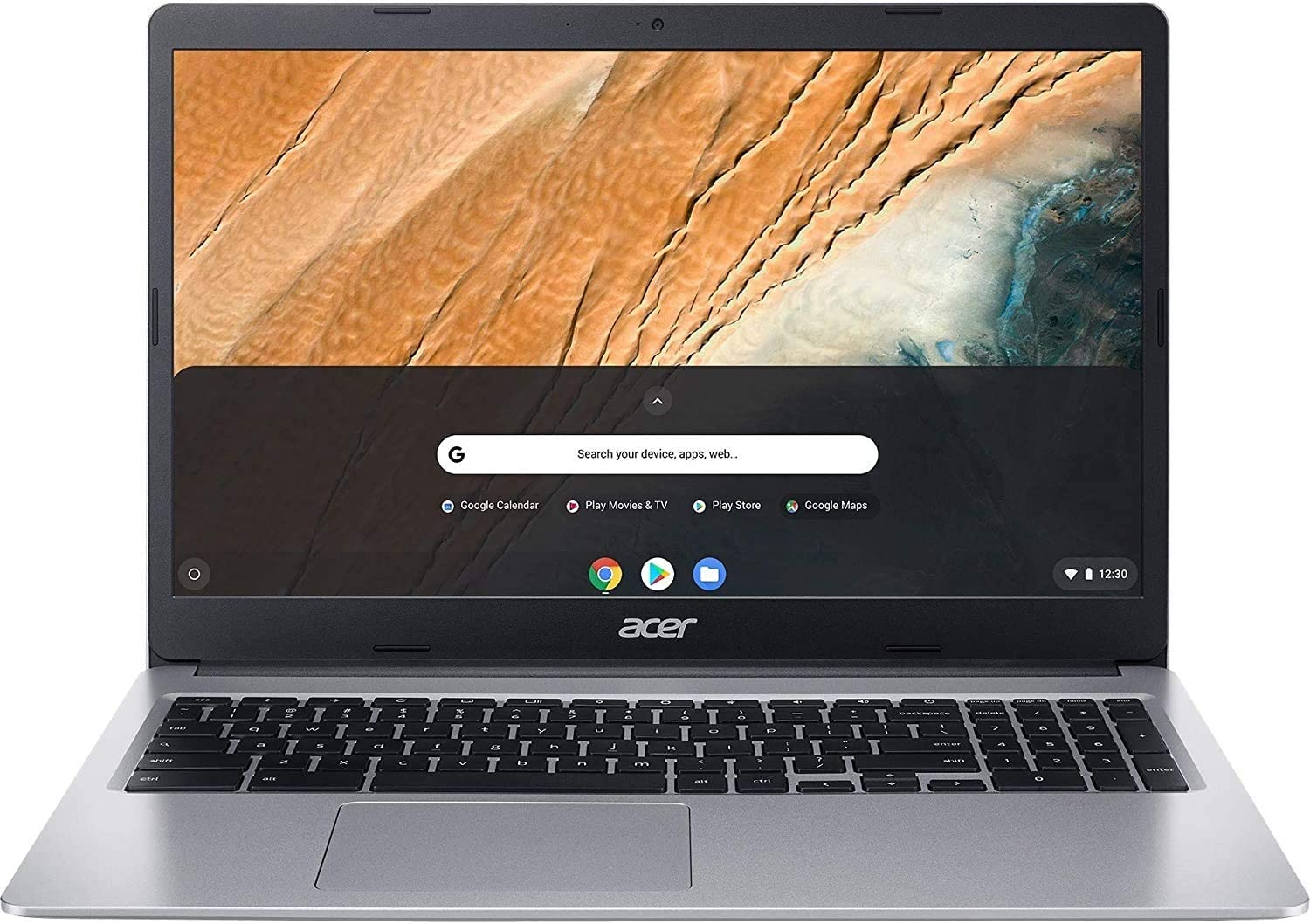 Acer 15.6inch FHD(1920x1080) IPS Touchscreen Chromebook, Intel Celeron Dual Core N4020 Processor Up to 2.80GHz, 4GB LPDDR4 RAM, 64GB SSD, Numeric Keypad, Chrome OS-(Renewed)