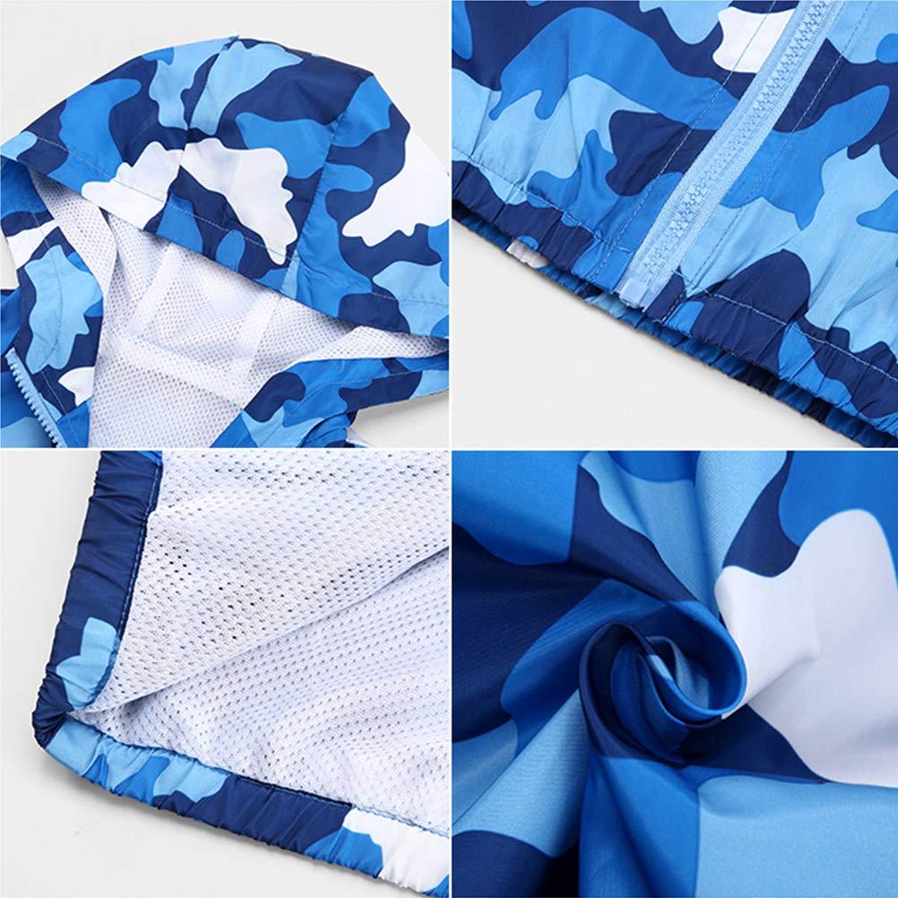 KISBINI Boys Cartoon Lightweight Wind Zip Jackets Windbreakers Cute Dust Coats 2T-7T
