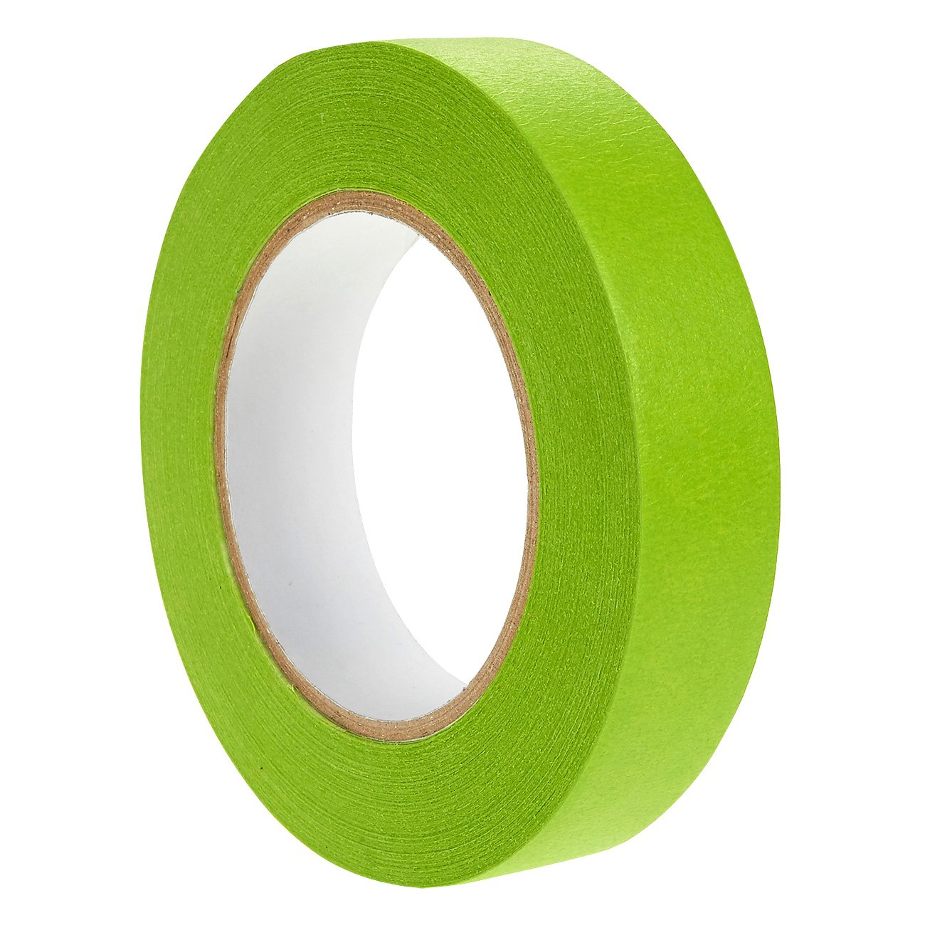 1 Piece Multi-Surface Painter's Masking Tape - Bright Green Adhesive Tape for Marking, Decoration, Repair Work, Crafts - 60 yards