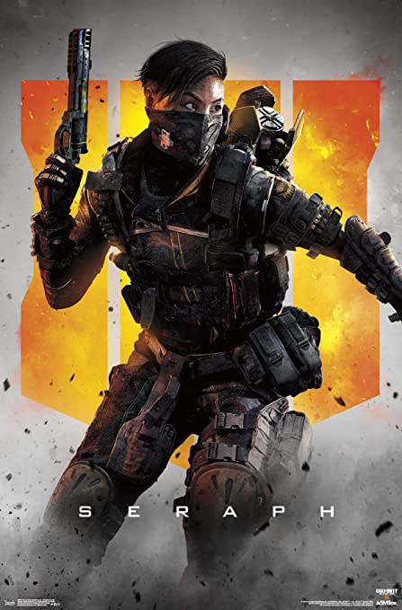 Trends International Call of Duty: Black Ops 4 - Seraph Key Art Wall Poster  Multi