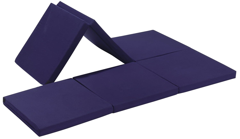 Badenia Bettcomfort 03610114502 Madrid Importado de Alemania Color Azul Oscuro con Funda roja Fut/ón Convertible en Asiento