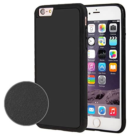 brand new 70b03 ce4e5 Fone-Stuff iPhone 6S, 6 Case - Anti Gravity Selfie Sticky Phone Case, Stick  on Surface Protective Hard Cover with Nano Suction Technology, Anti Slip ...