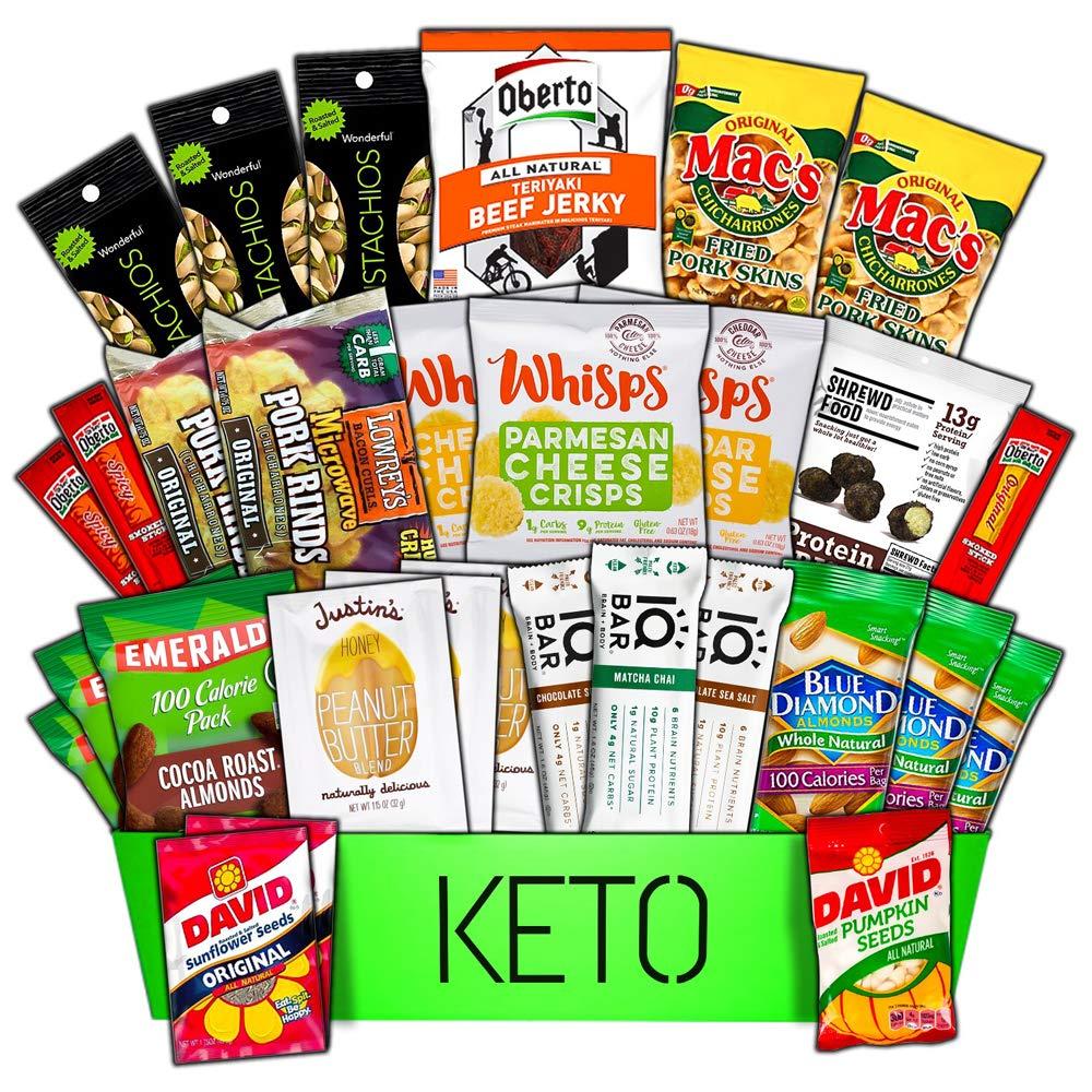 Starter Pack ULTIMATE Keto Box |30| Low Carb | Keto Snacks | Keto Box | Low Carb Snacks | Keto Variety | Keto Box | Keto Sampler | Ketogenic | Low Net Carbs | Keto Diet Box |