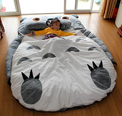 Totoro Double bed Totoro bed Totoro sleeping bag Totoro Design bed Large  size (2.3x1 08b4a85778
