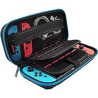 Capa para Nintendo Switch, bolsa protetora para transporte de viagem Axiba com 10 suportes para jogos para Nintendo…