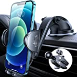 Anwas Cell Phone Holder for Car [Thick Case & Heavy Phone Friendly] ,Car Phone Holder Mount Dashboard Air Vent, Compatible wi