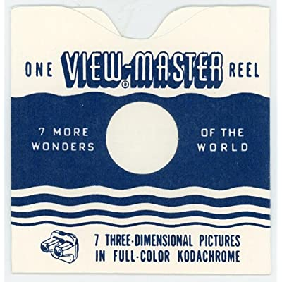 Reel Sleeves for View-Master Reels - USA - Wavy Line Style - Pack of 25 - NEW: Toys & Games