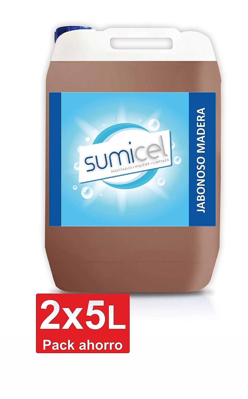 Limpiador jabonoso diseñado para limpiar, nutrir y dar brillo a la madera, garrafa de 5 litros (2)