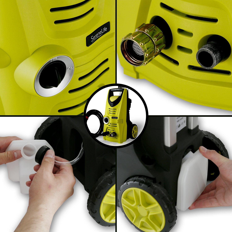 serenelife eléctrico limpiador a presión - Potente ...