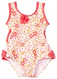 Little Me Baby Girls' Floral Swimsuit, Pink
