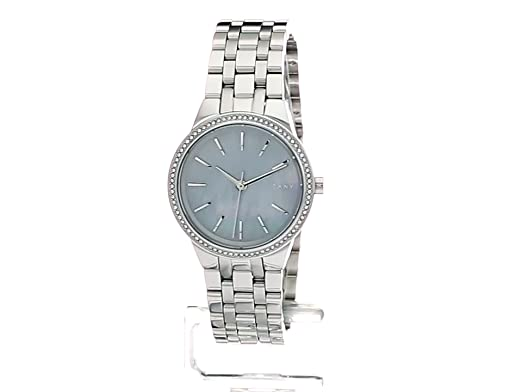 Amazon.com: DKNY Womens Park Slope Quartz Stainless Steel Casual Watch, Color:Silver-Toned (Model: NY2571): DKNY: Watches