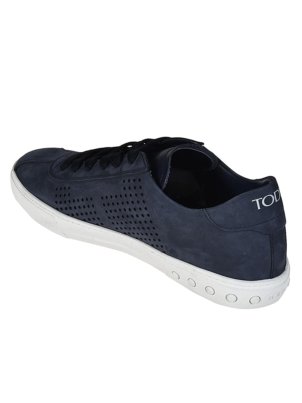 Tod s Sneaker Basse in Nabuk Blu XXM0XY0X990D6Y99IL Blu Uomo  Amazon.it   Scarpe e borse bf018b0e5cb
