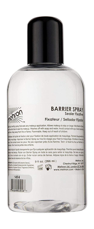 Mehron Makeup Barrier Spray (9 oz)