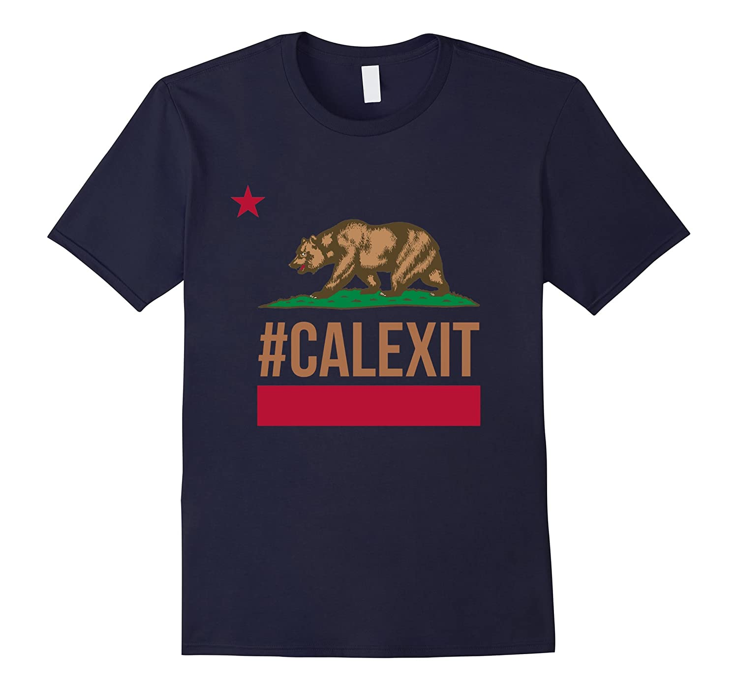 #Calexit Bear T-Shirt California Flag Independence Tee Shirt-Art